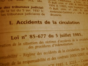 Accidents De La Circulation Prejudice Corporel Avocat Grenoble